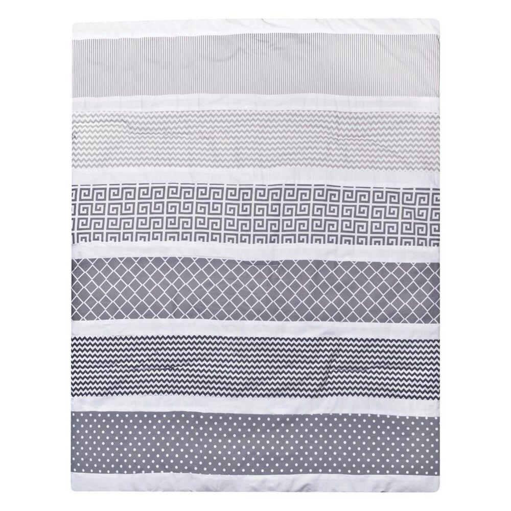 Trend Lab LLC Ombre Gray 3-Piece Crib Bedding Set, , large