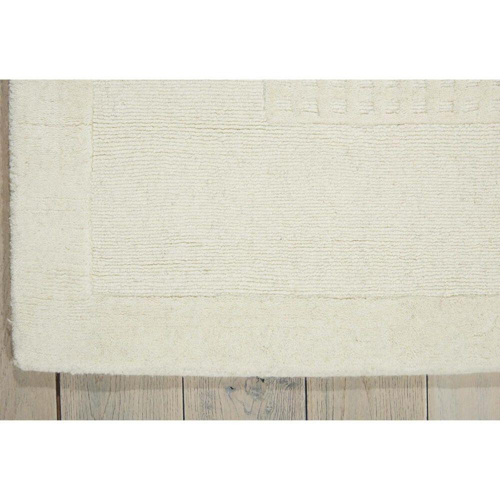 Nourison Westport WP20 5' x 8' Ivory Area Rug , , large