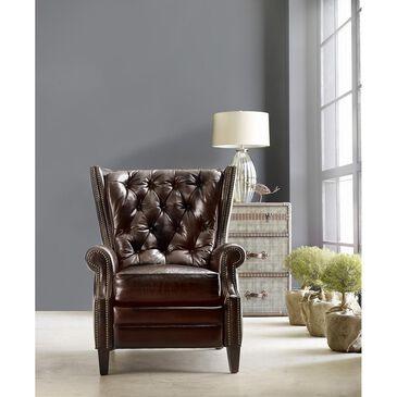 Hooker Furniture Leather Recliner in Balmoral Blair, , large