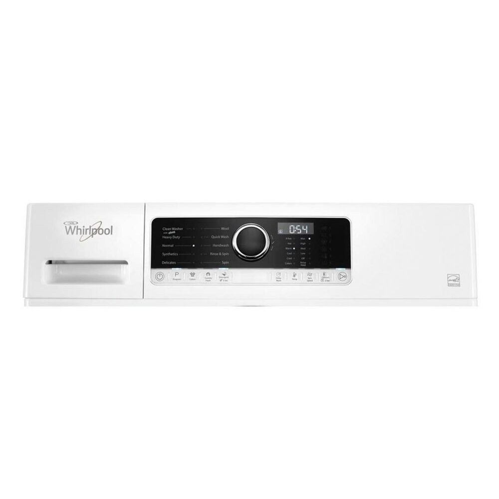Whirlpool 2.3 Cu. Ft. High-Efficiency Compact Front Load Washer in White, , large