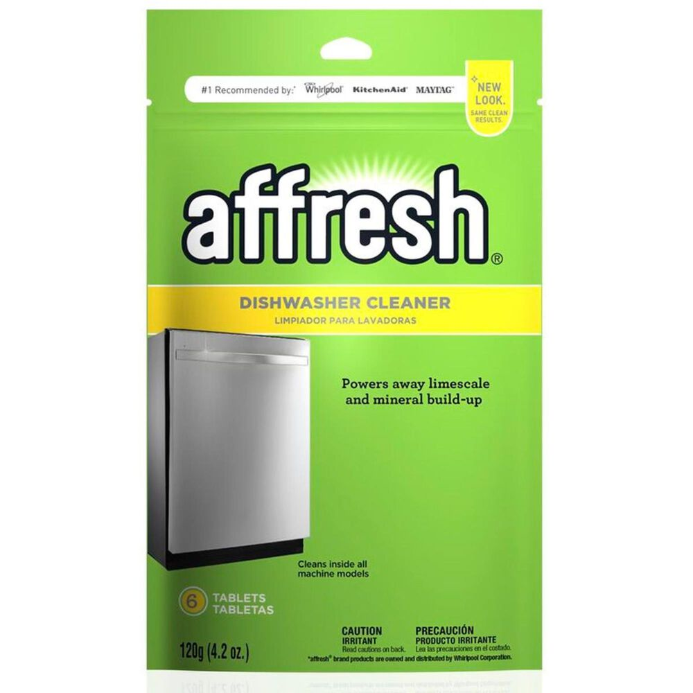 Whirlpool Affresh Dishwasher and Disposal Cleaner - 6 Tablets, , large