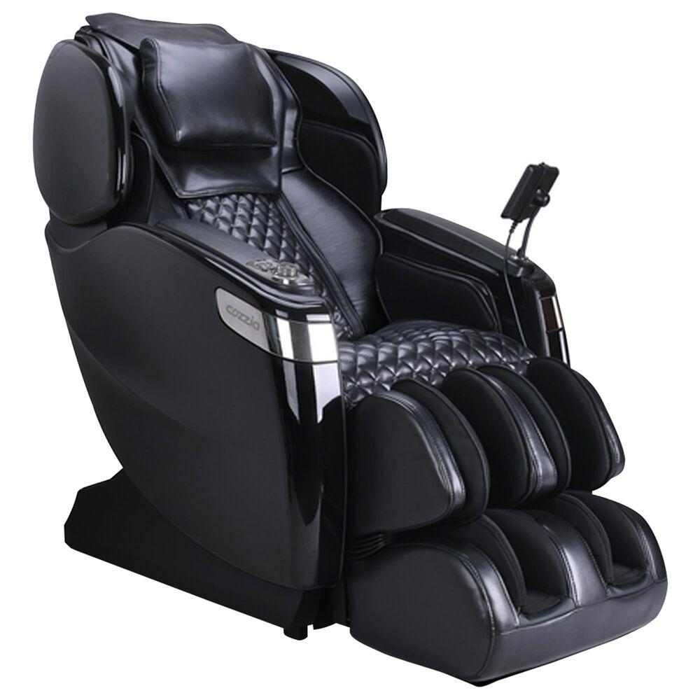Cozzia Massage Chair in Triple Black, , large
