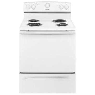"""Amana 30"""" Electric Range with Warm Hold in White, , large"""