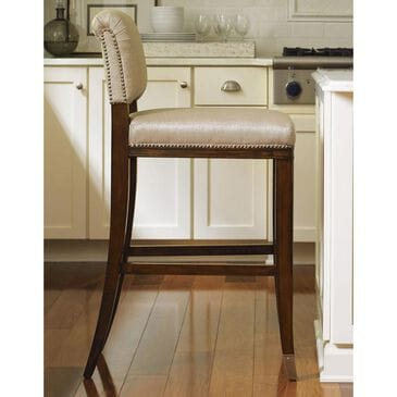 Lexington Furniture Tower Place La Salle Bar Stool in Cathedral Walnut, , large
