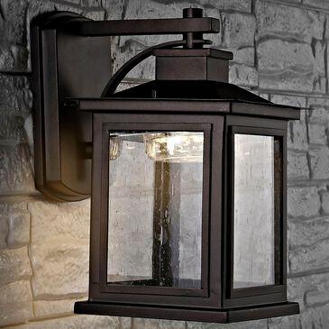 Safavieh Gorgen Outdoor Wall Lantern in Black, , large