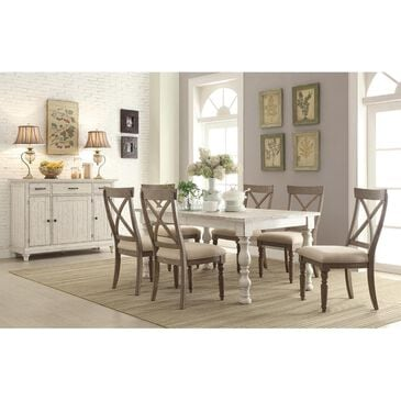Shannon Hills Aberdeen Server in Weathered Worn White, , large