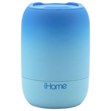 iHome Rechargeable Water Resistant Bluetooth Speaker in Blue, , large