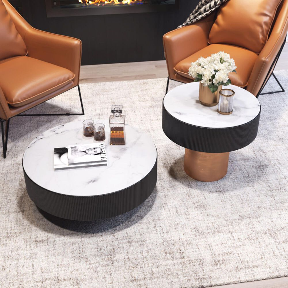 Zuo Modern Fletcher Coffee Table in Multicolor, , large