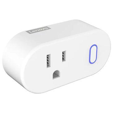 Lenovo Smart Plug Smart Home Device Control in White, , large