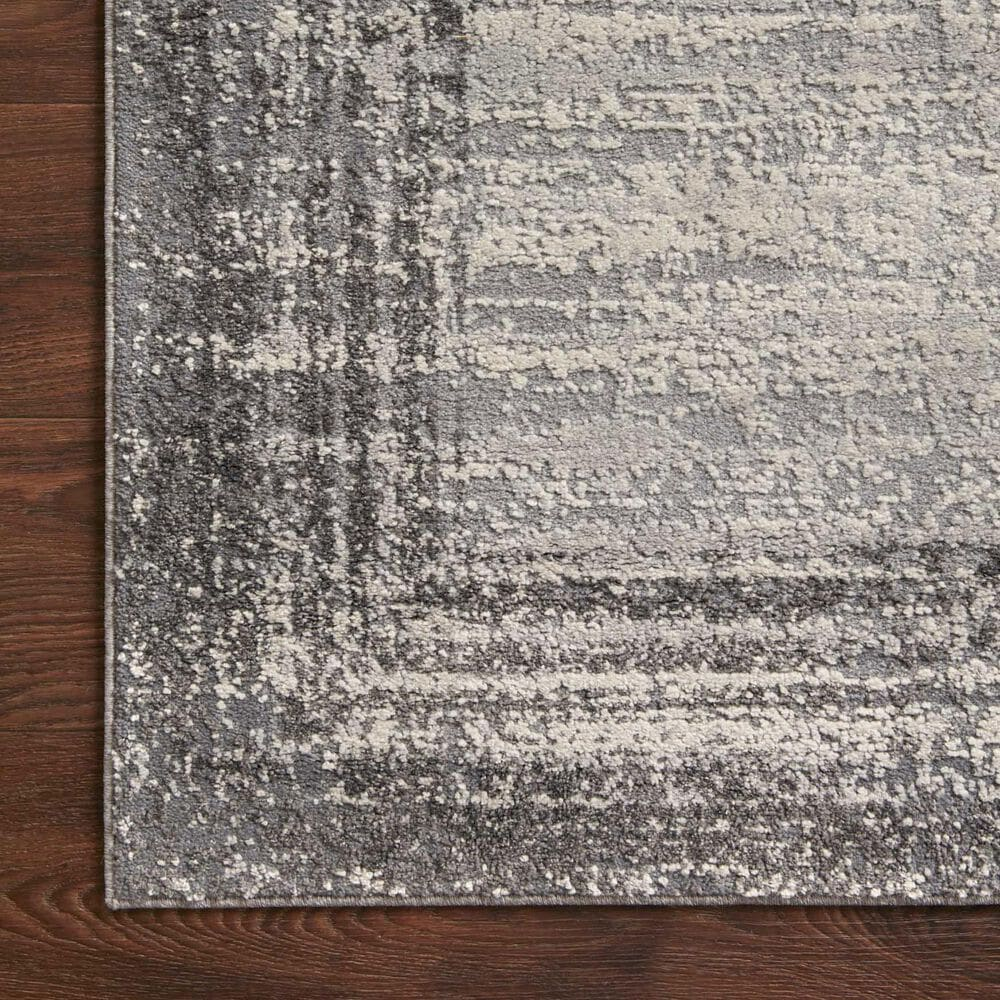 """Loloi II Austen AUS-02 5'3"""" x 7'7"""" Pebble and Charcoal Area Rug, , large"""