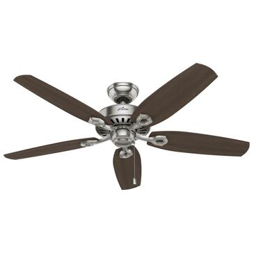 "Hunter Builder Elite  52"" Ceiling Fan in Brushed Nickel, , large"