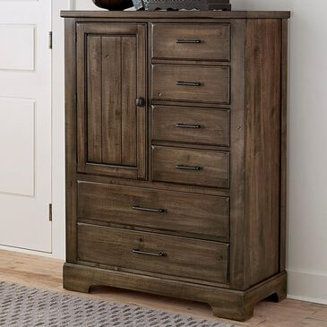 Viceray Collections Cool Rustic 6-Drawer Standing Chest in Mink, , large