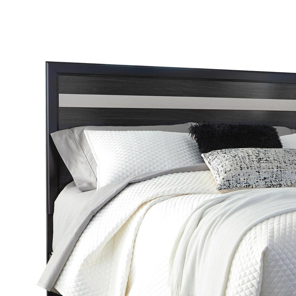 Signature Design by Ashley Starberry Queen Panel Bed in Black, , large