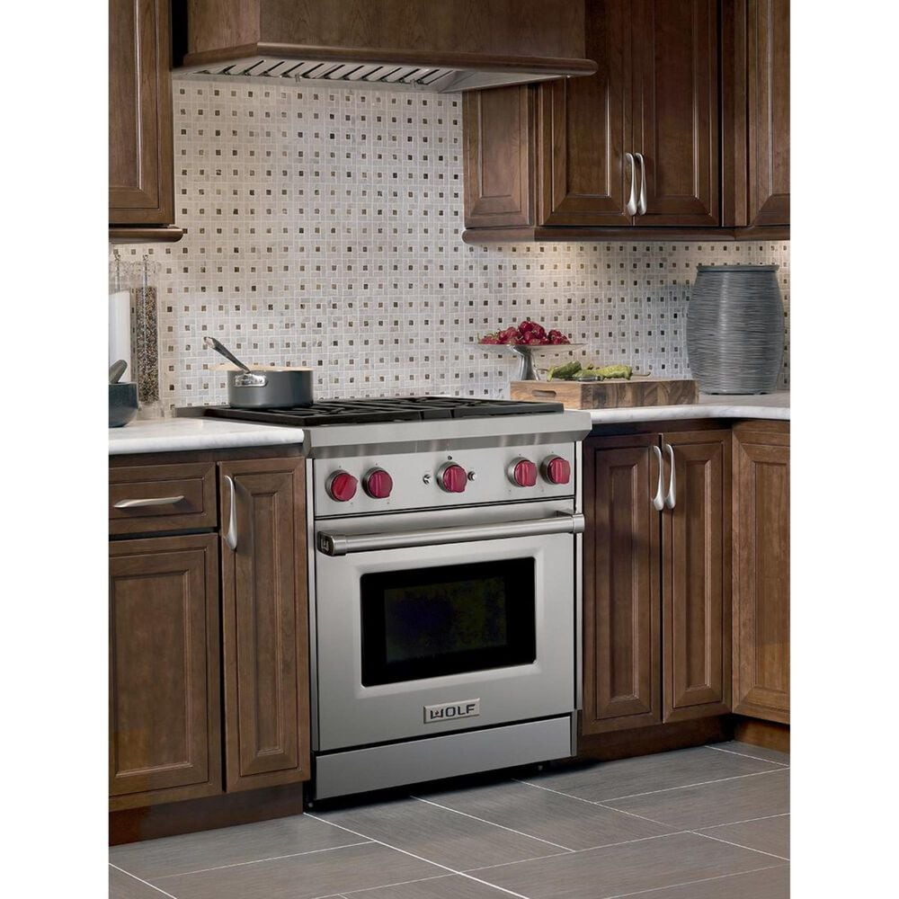 "Wolf 30"" Gas Range (Liquid Propane), , large"