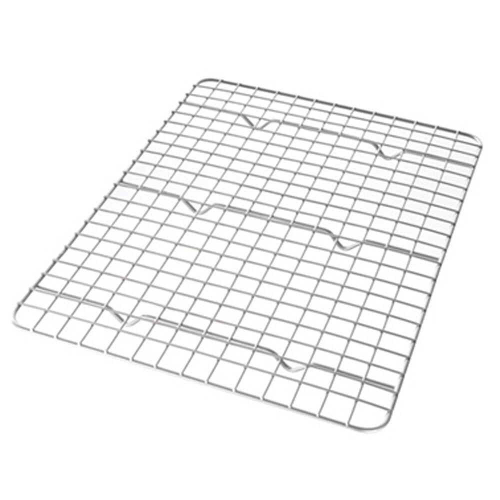 USA PAN Quarter Sheet Nonstick Cooling Rack , , large