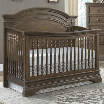 Eastern Shore Olivia Curved Top 4-In-1 Crib in Rosewood, , large