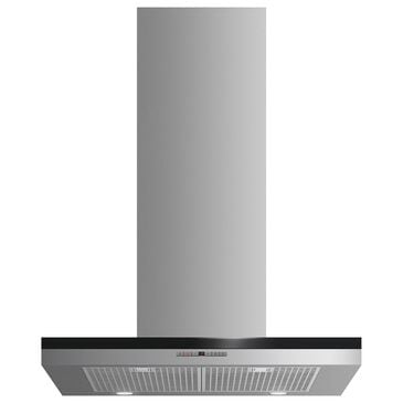 "Fisher and Paykel 30"" Wall Mount Chimney Range Hood in Stainless Steel, , large"
