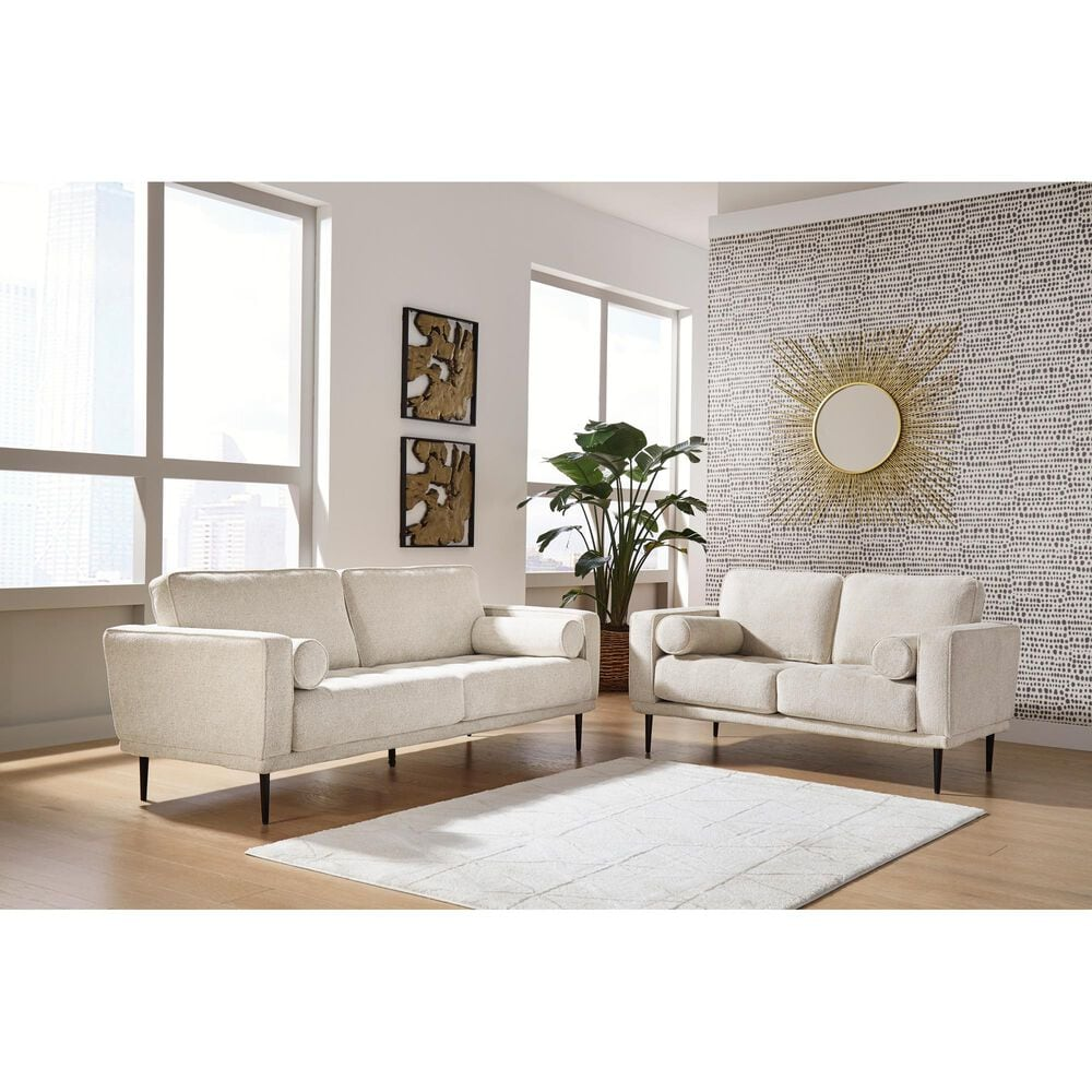 Signature Design by Ashley Caladeron Loveseat in Sandstone, , large