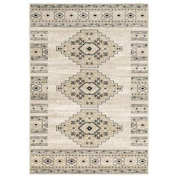 "Oriental Weavers Georgia Southwest 643A0 7'10"" x 10' Ivory Area Rug, , large"