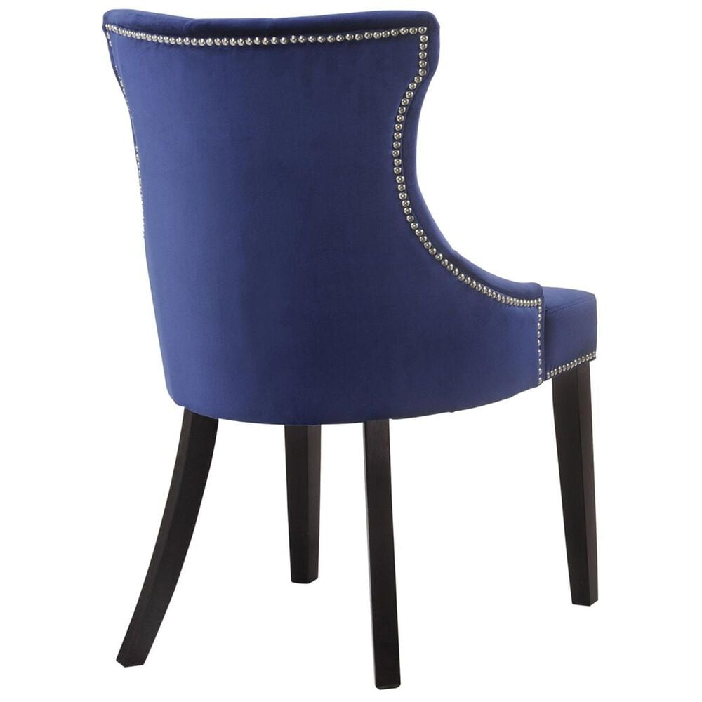 Carolina Cottage Krissa Tufted Chair in Navy, , large