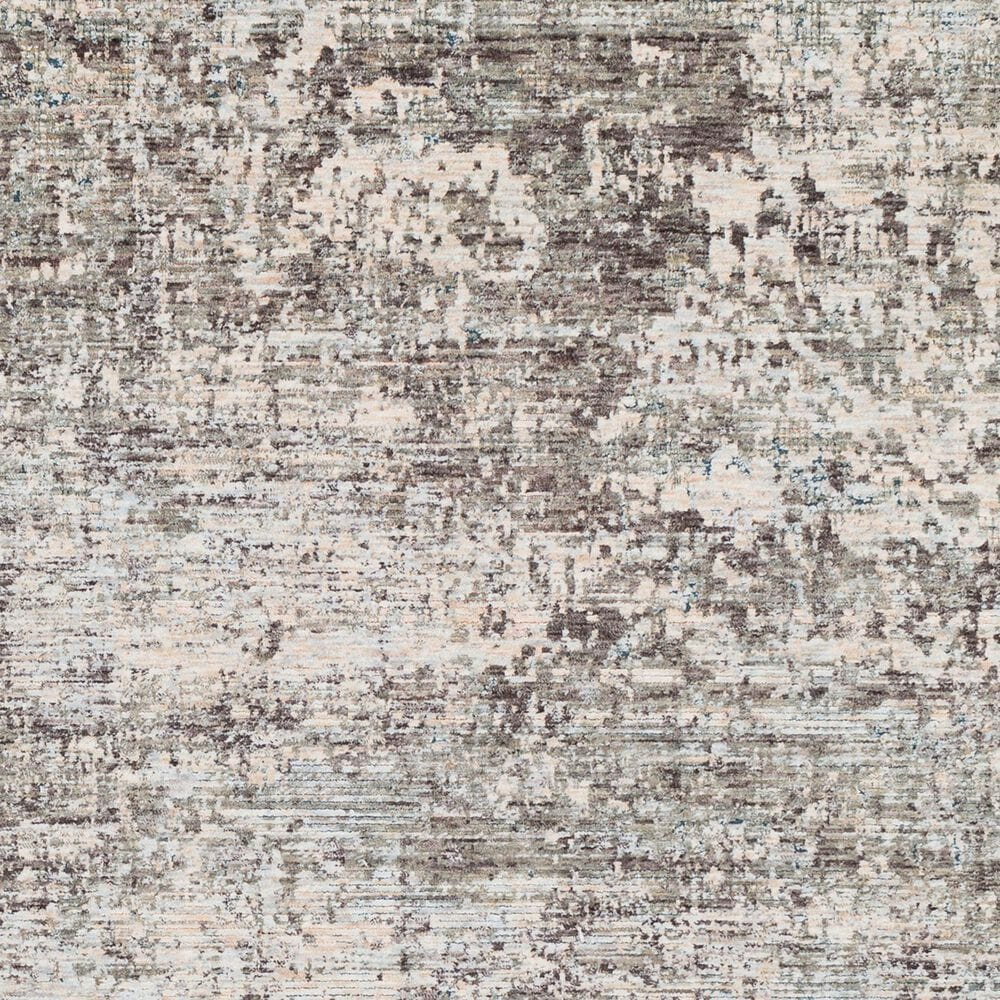 """Surya Presidential PDT-2303 3'3"""" x 5' Blue, Gray and Orange Area Rug, , large"""