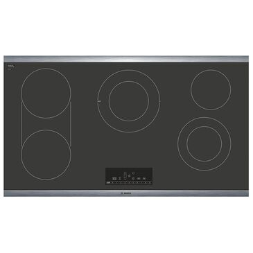 """Bosch 36"""" Touch Control Electric Cooktop in Black, , large"""