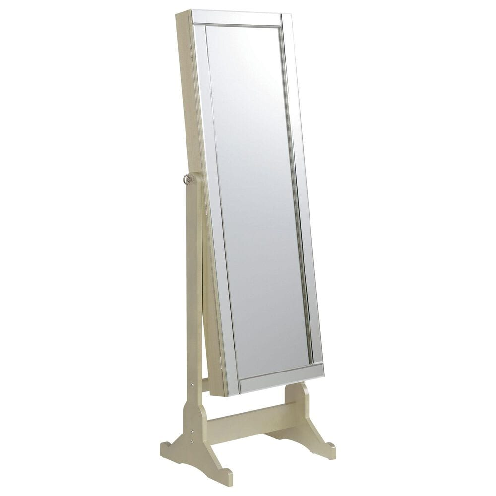 Pacific Landing Cheval Mirror in Silver, , large