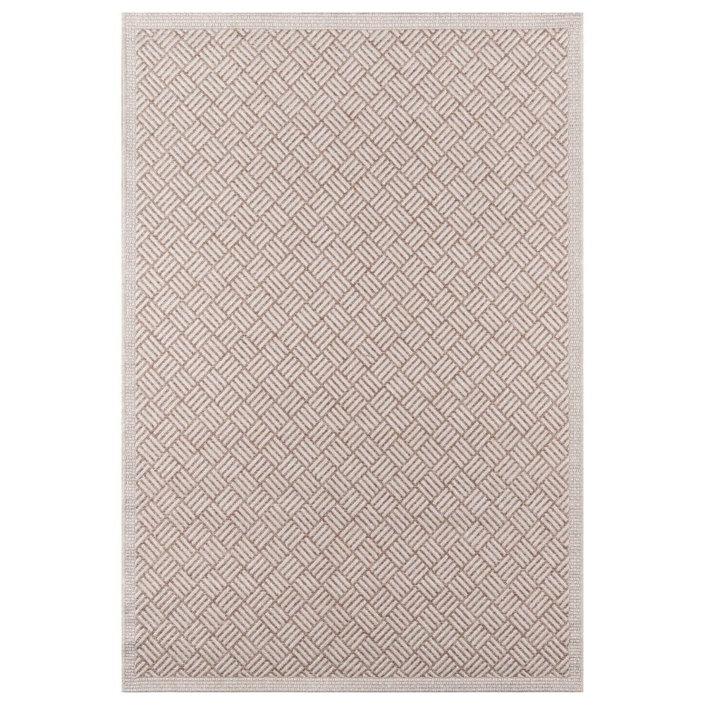 "Momeni Como 9'10"" x 13'2"" Tan Indoor/Outdoor Area Rug, , large"