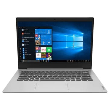 "Lenovo 14"" Laptop   AMD Athlon Silver 3050e - 4GB RAM - AMD Radeon Graphics - 128GB SSD in Platinum Grey, , large"
