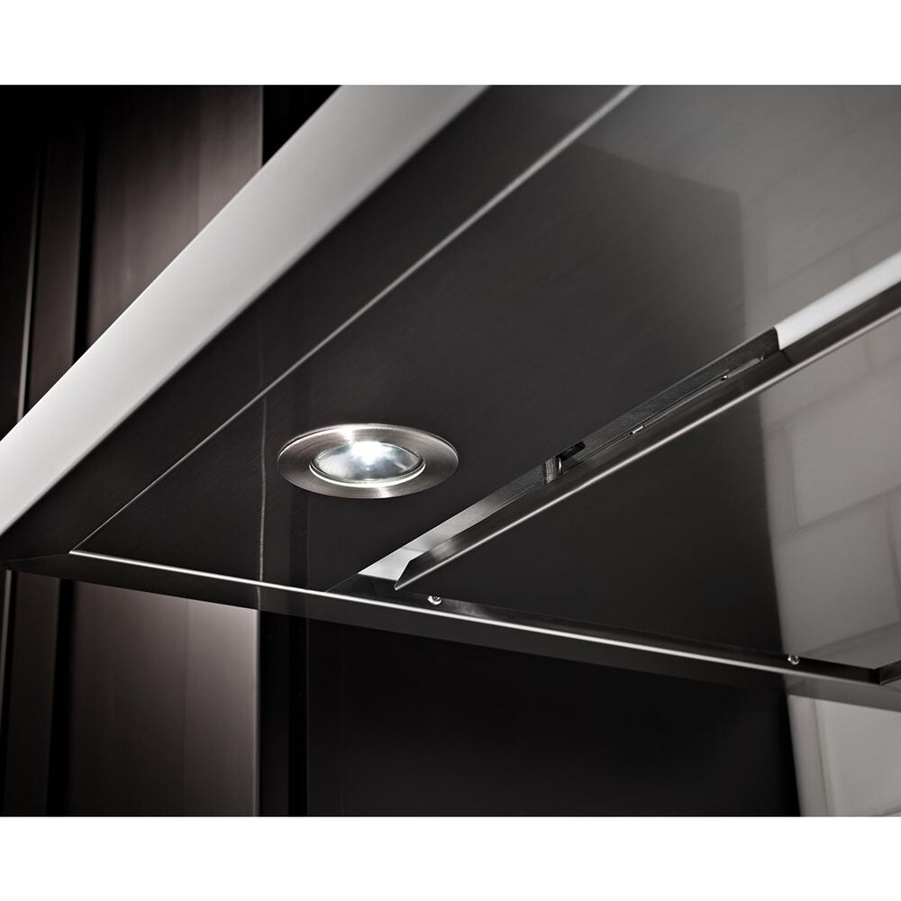 KitchenAid 36'' Wall Mount Canopy Hood in Stainless Steel, , large