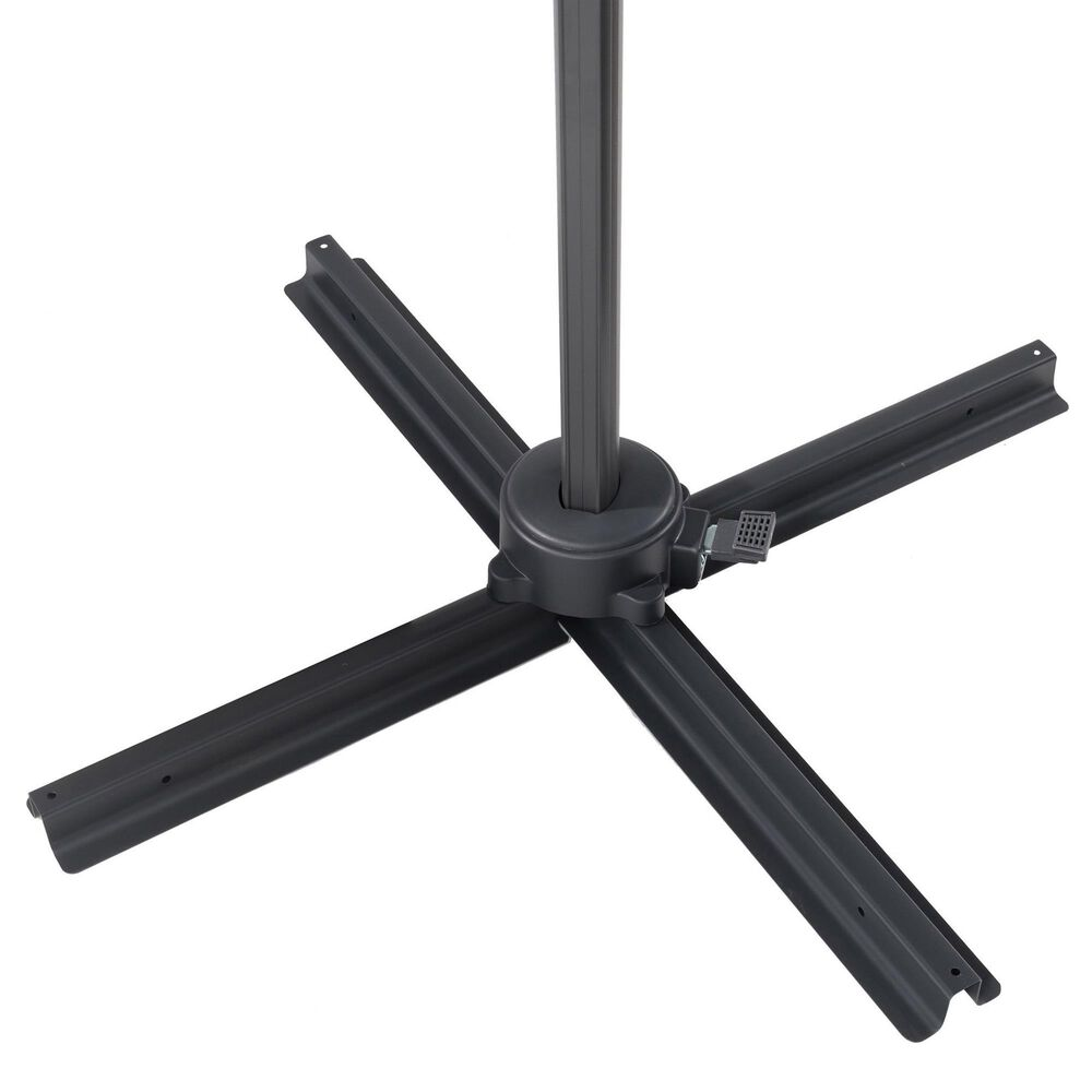 CorLiving Patio Offset Umbrella in Grey, , large