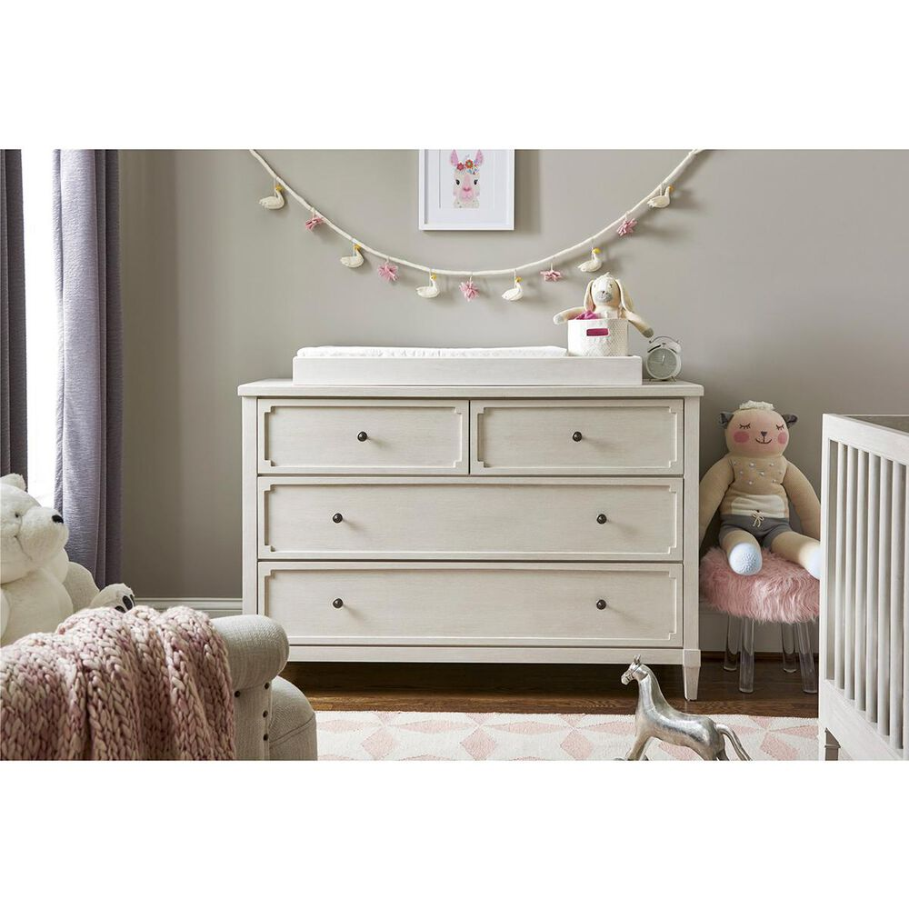 Furniture Worldwide Serendipity Changing Top in Alabaster, , large