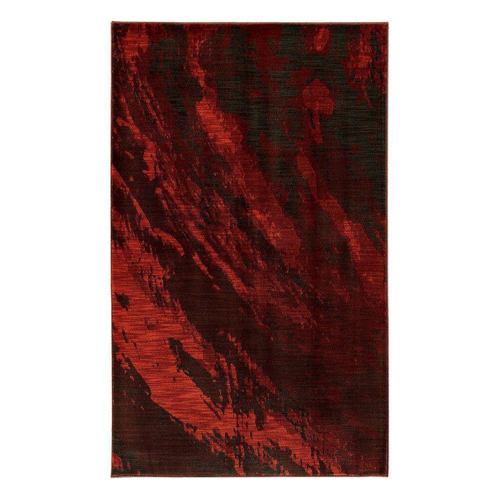 "Oriental Weavers Sedona 6367B 1'10"" x 3' Red Area Rug, , large"