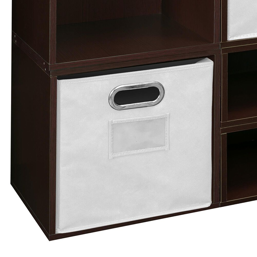 Regency Global Sourcing Niche Cubo 8-Piece Storage Set in Truffle/White, , large