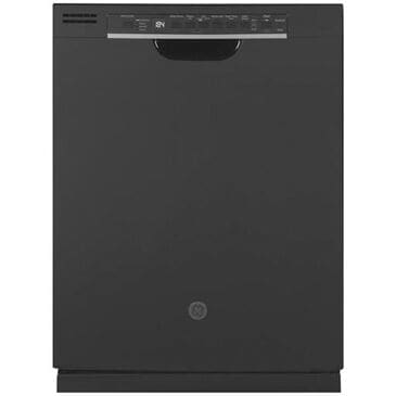 GE Appliances Built-In Dishwasher with Front Controls and 3rd Rack in Black, , large