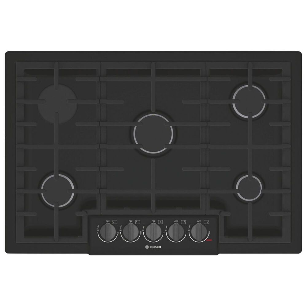"""Bosch 30"""" Gas Cooktop in Black, , large"""