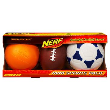 Hasbro Nerf Sports Pro Shop with Basketball, Football, and Soccer, , large