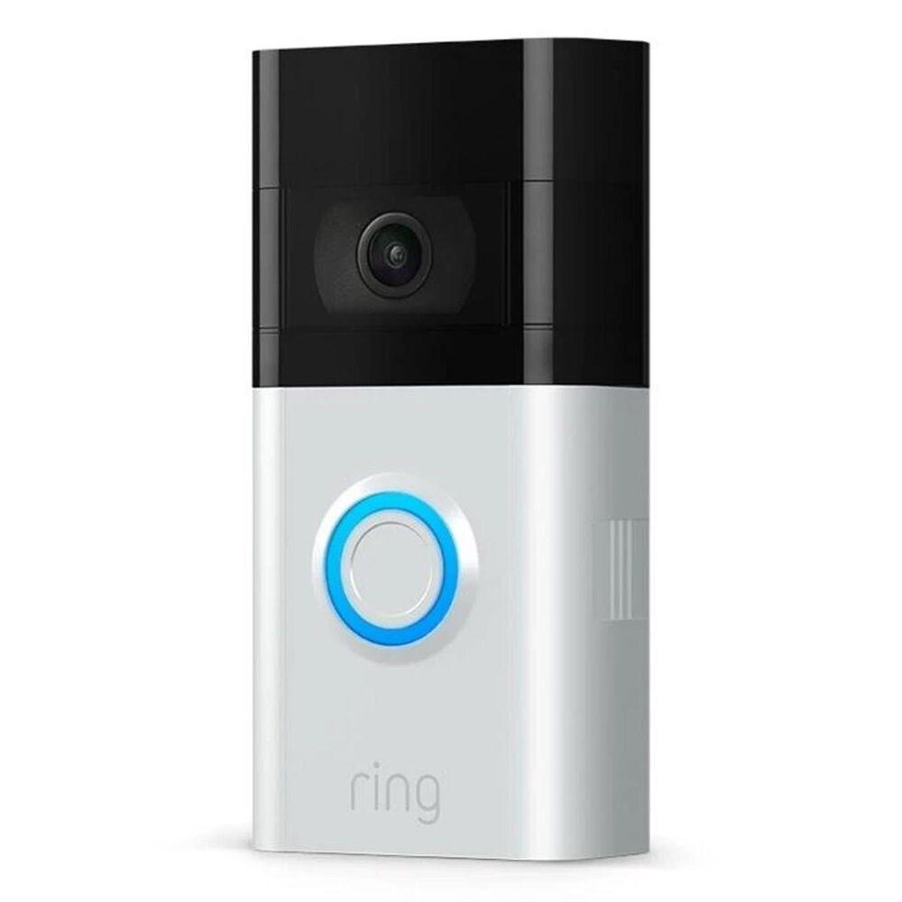 Ring Video Doorbell 3 - Satin Nickel, , large