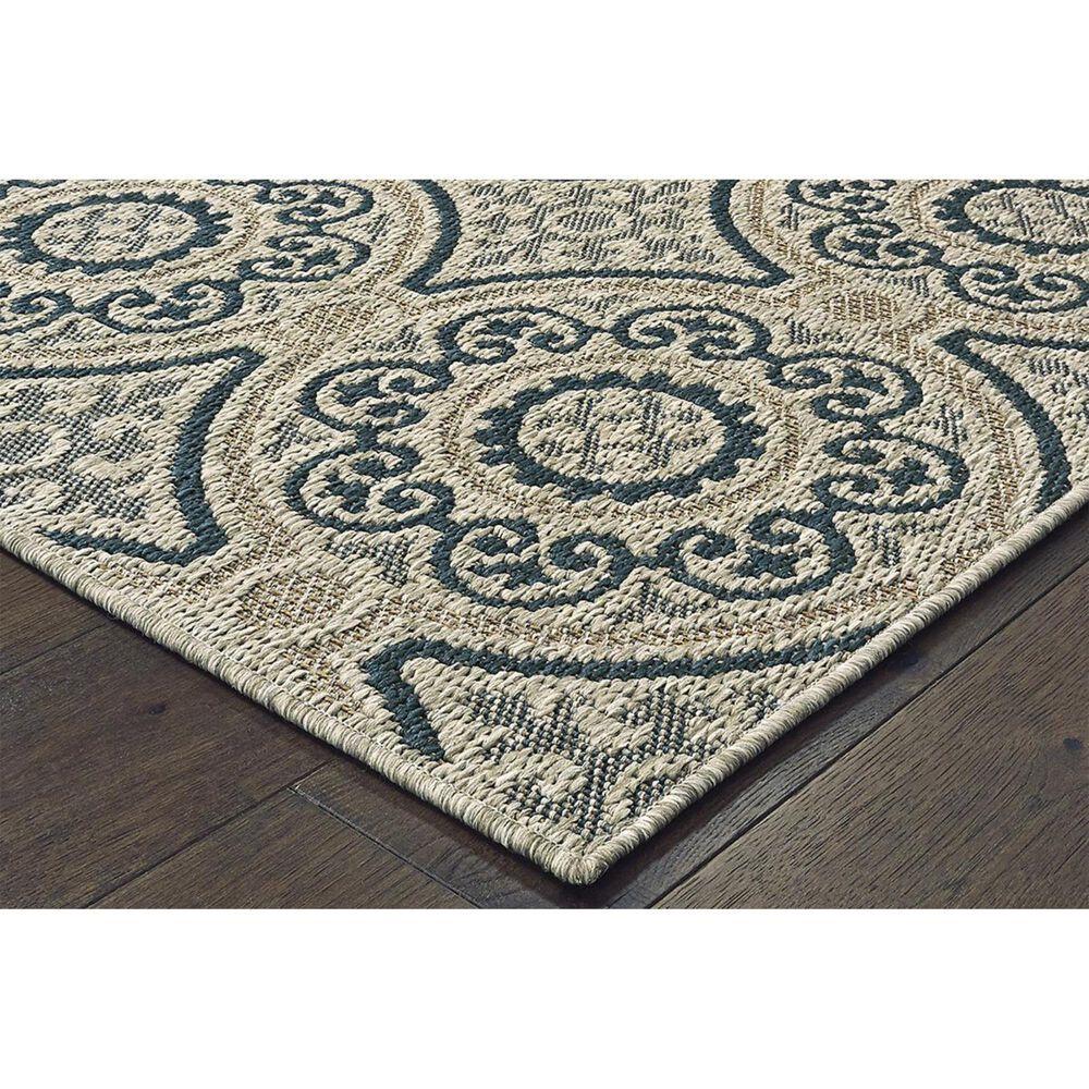 "Oriental Weavers Latitude 609X 1'10"" x 7'6"" Grey Runner, , large"
