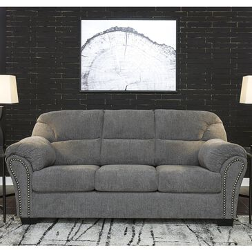Signature Design by Ashley Allmaxx Sofa in Pewter, , large