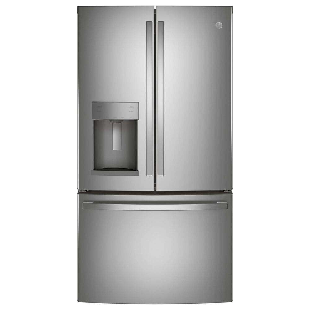 GE Appliances 27.8 Cu. Ft. French Door Refrigerator with TwinChill Evaporators in Stainless Steel , , large