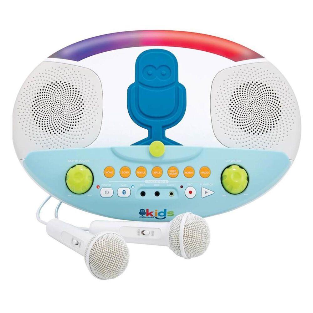 Singing Machine Kids Bluetooth Karaoke System in White, , large