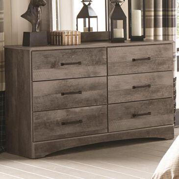 Seven Stars Brinkley 6-Drawer Dresser in Manslough Oak, , large