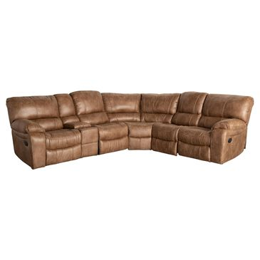 Oxford Furniture 6-Piece Reclining Sectional in Bonanza Silt, , large