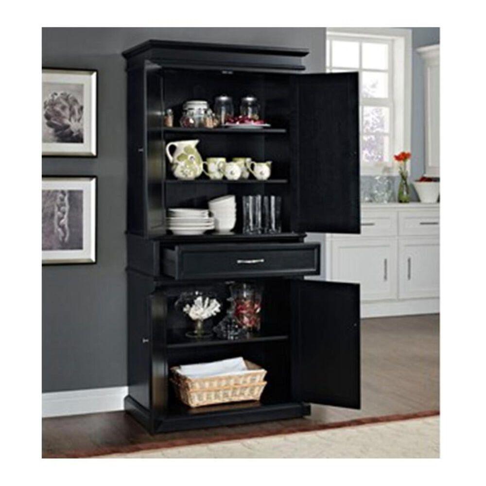 Crosley Furniture Parsons Pantry in Black, , large