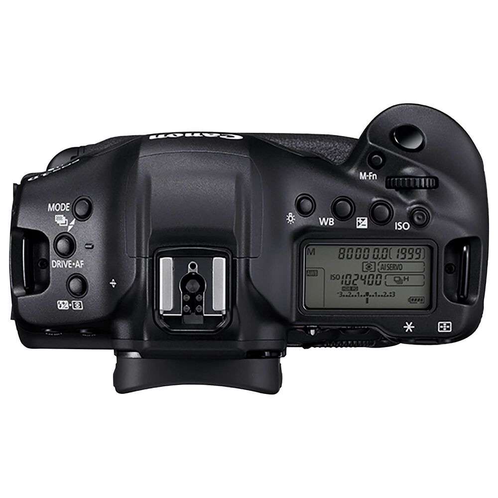 Canon EOS-1D X Mark III Digital SLR Camera in Black with Memory Card and Card Reader, , large
