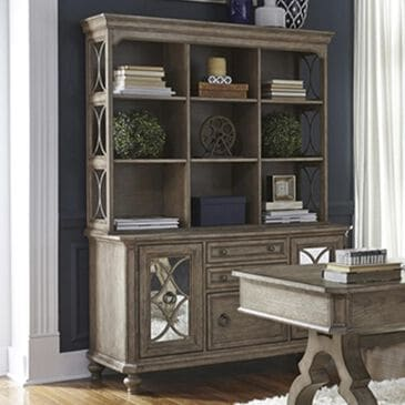 Belle Furnishings Credenza with Hutch, , large