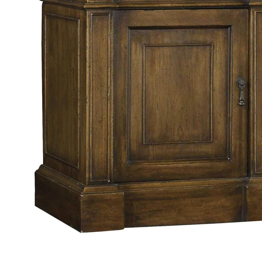 Hooker Furniture Archivist Entertainment Console in Soft Pecan, , large