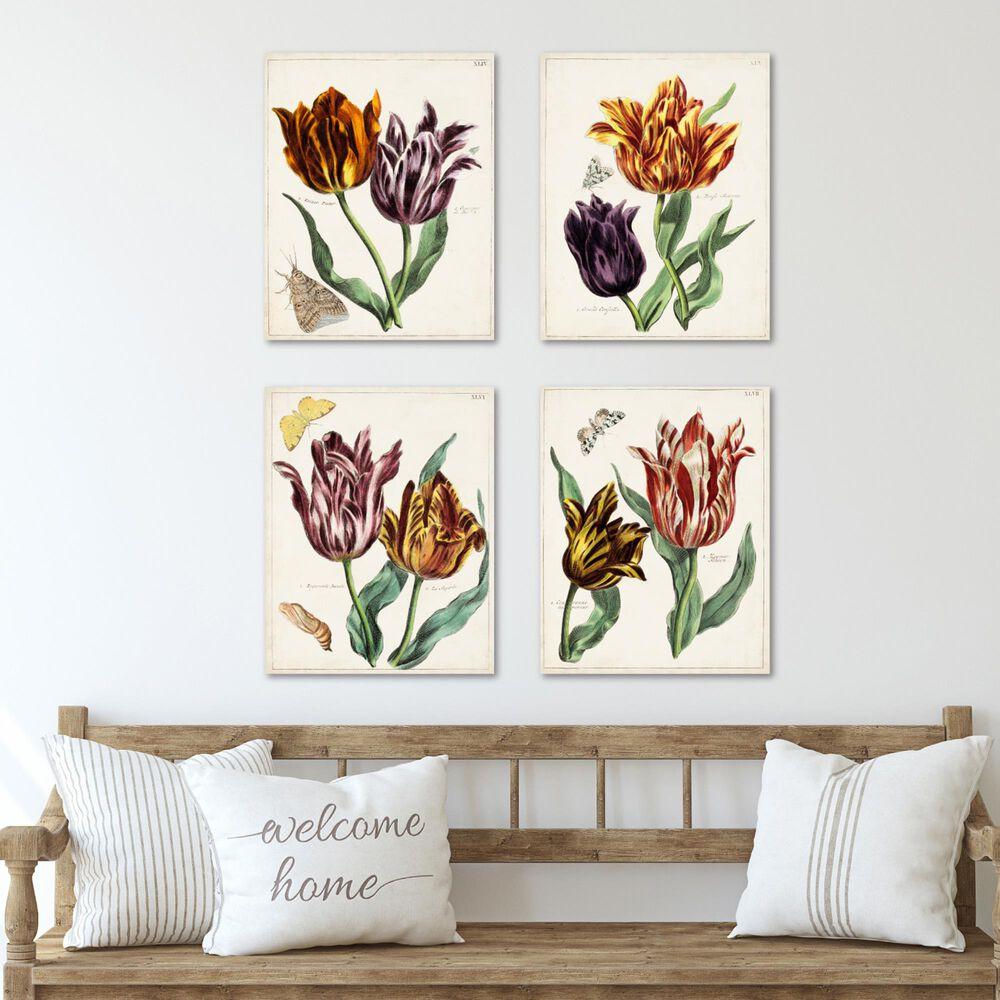 Courtside Market Tulip Classics 4-Piece Canvas Set, , large