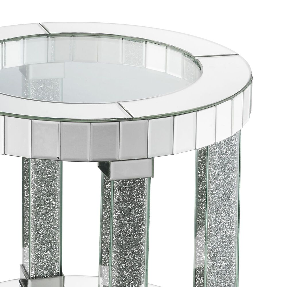 Gunnison Co. Fafia End Table in Mirrored, , large
